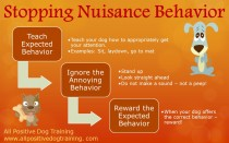 Stopping annoying behavior requires negative punishment in many cases!